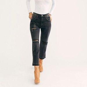 Free People Lita Slim Leg Jean